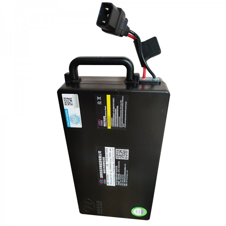 Elektrinio motorolerio paspirtuko Citycoco ličio baterija 20Ah 60V