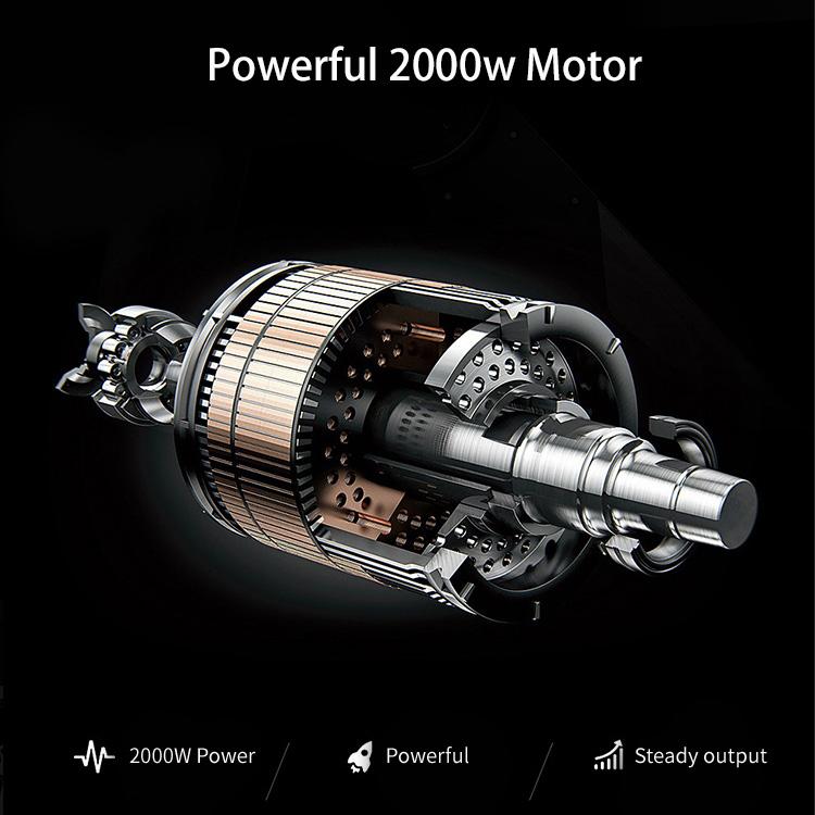 Elektrinis motoroleris Citycoco M8 2000W 20Ah bordo sp.
