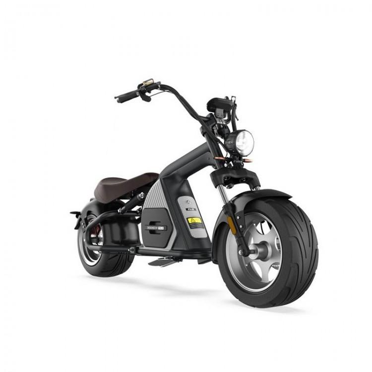 Elektrinis motoroleris Citycoco M8 2000W 20Ah juoda sp.