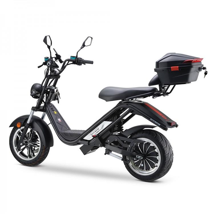 Elektrinis motoroleris E-thor 5.0C 38Ah juoda sp.