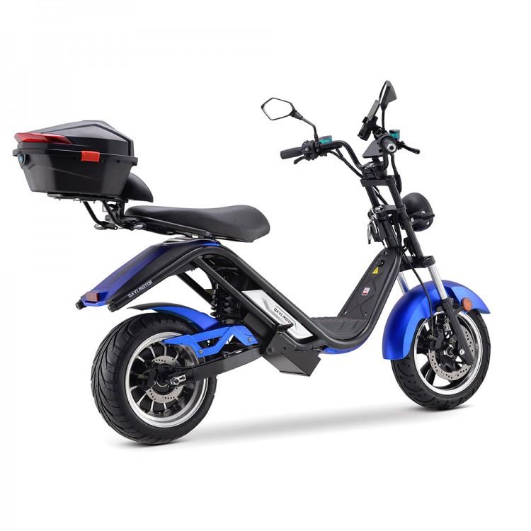 Elektrinis motoroleris E-thor 5.0C 38Ah mėlyna sp.