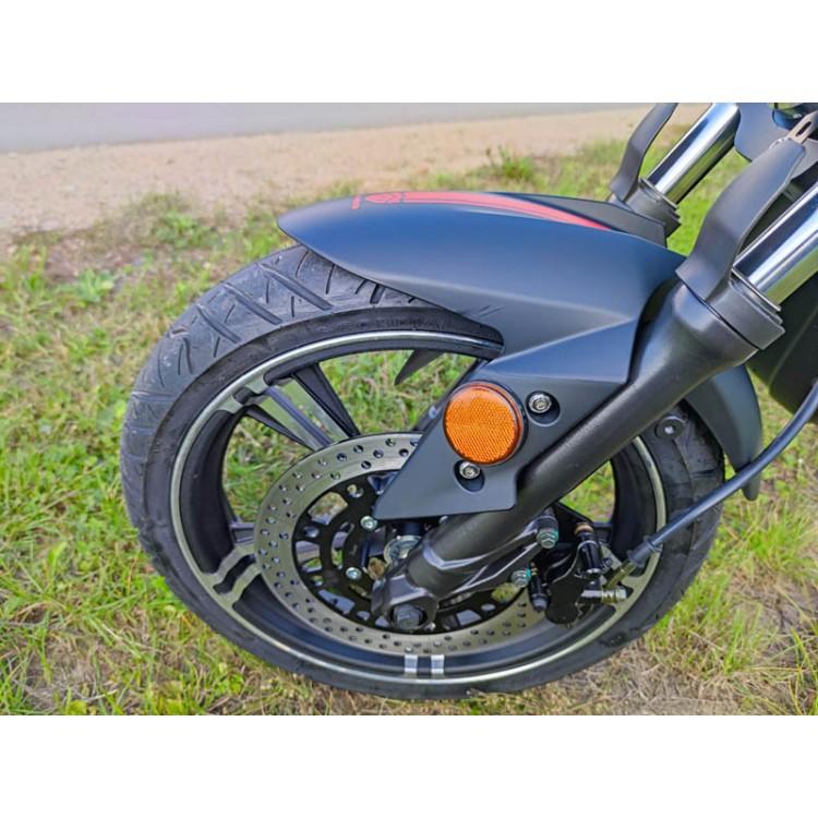 Elektrinis motoroleris E-thor 6.0B 38Ah juoda sp.