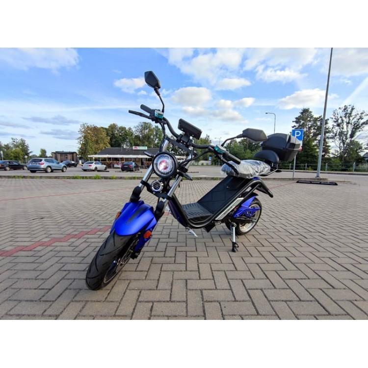 Elektrinis motoroleris E-thor 6.0B 38Ah mėlyna sp.