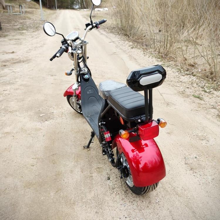Citycoco elektrinis motoroleris ER-1.6 20Ah (viena baterija) Bordo sp.