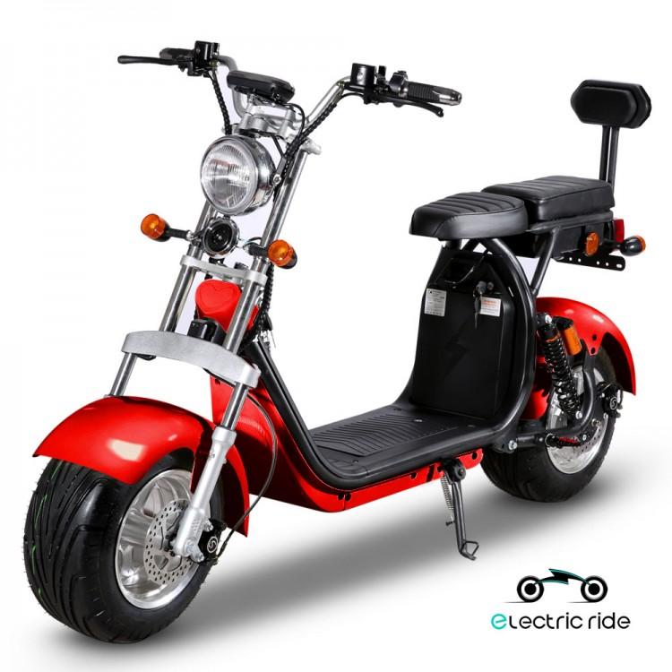 Citycoco elektrinis motoroleris ER-1.6 40Ah (dvi baterijos) Bordo sp.
