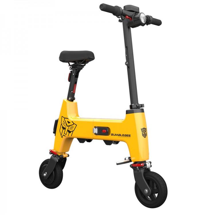 Elektrinis dviratis paspirtukas Xiaomi HIMO H1 geltonas