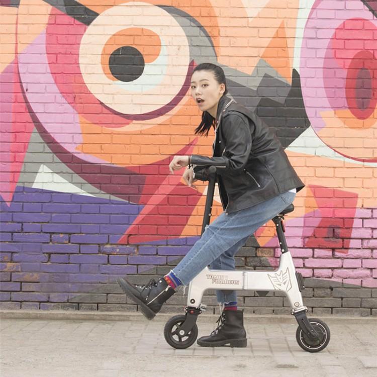 Elektrinis dviratis paspirtukas Xiaomi HIMO H1 raudonas