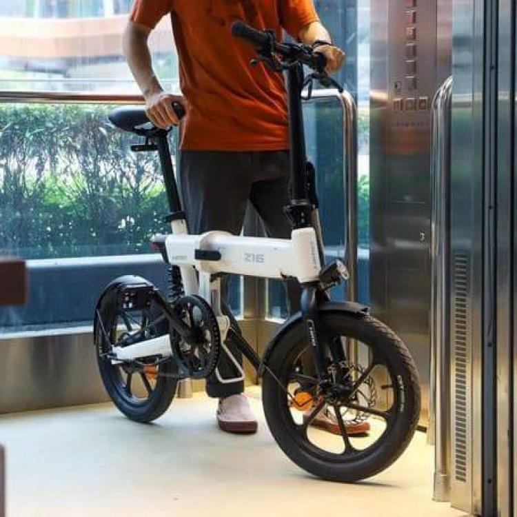 Xiaomi HIMO Z16 elektrinis dviratis sulankstomas baltas