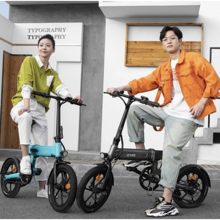 Xiaomi HIMO Z16 elektrinis dviratis sulankstomas pilkas
