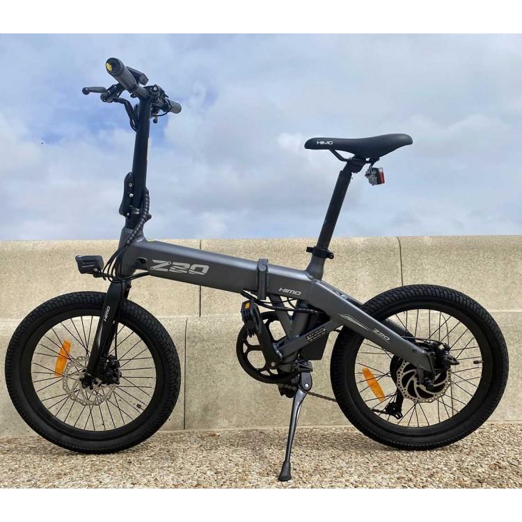 Xiaomi HIMO Z20 elektrinis dviratis sulankstomas pilkas