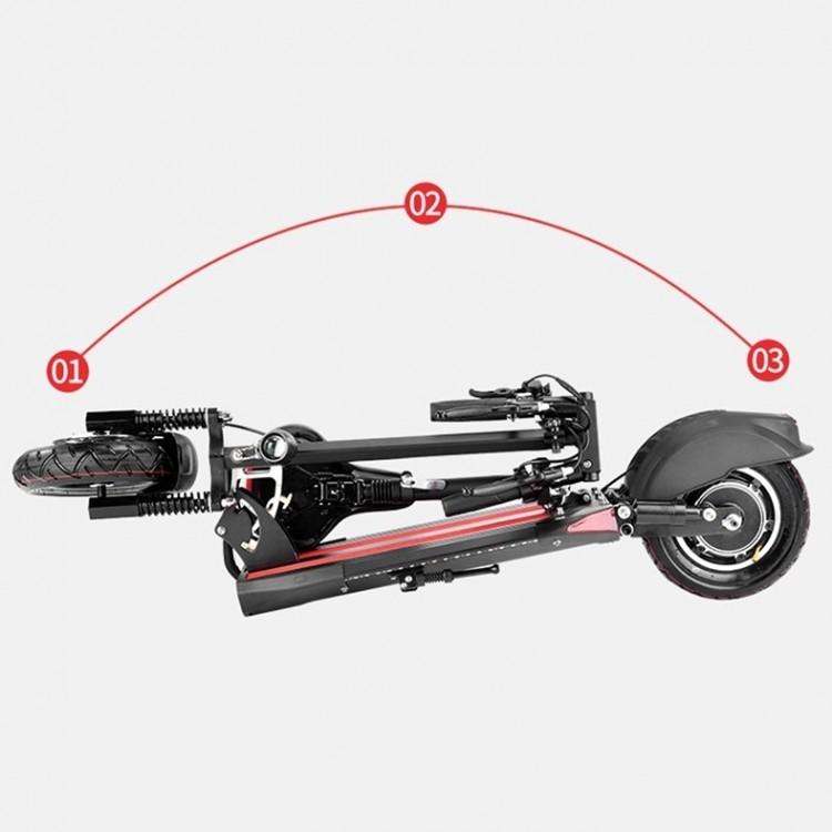 Elektrinis paspirtukas Victory M4 su sėdyne 500W juodas
